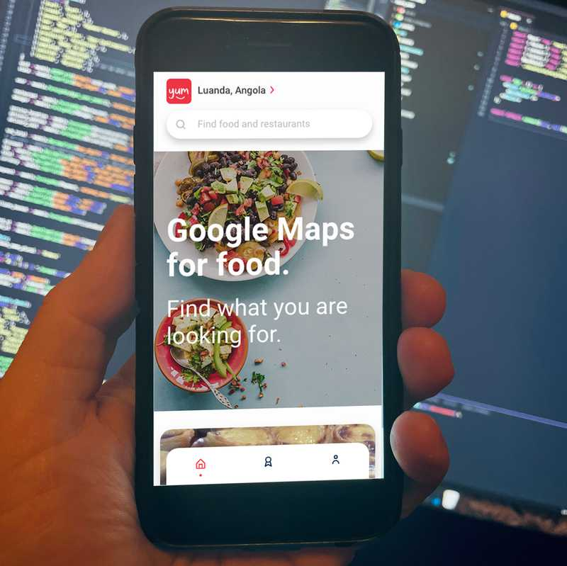 From code line to a food social media app -